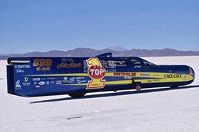 """最快""""火箭""""摩托车 挑战643km/h"""