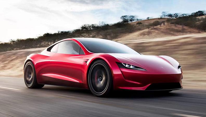 0-96km/h 1.9秒 特斯拉Roadster亮相