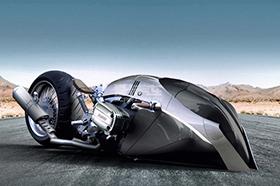 营造金属质感 宝马R1100R Khan