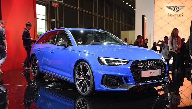 预售91万 奥迪全新RS 4 Avant开启预定