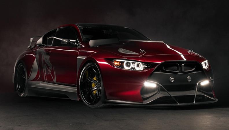 黑曼巴GT3概念成真 你看得出这是M4吗