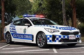 起亚上岗 澳大利亚警察换新车
