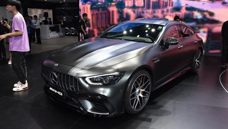 2018广州车展 奔驰AMG GT四门版亮相