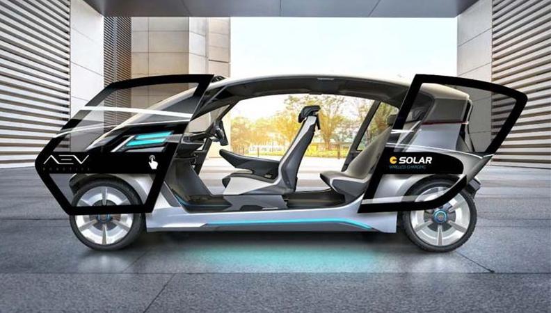 自动驾驶太阳能电动车明年1月将亮相CES