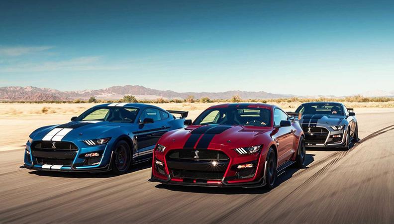 全新Mustang Shelby GT500信息曝光