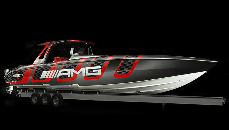 水陆通吃 梅赛德斯-AMG再推特别版快艇