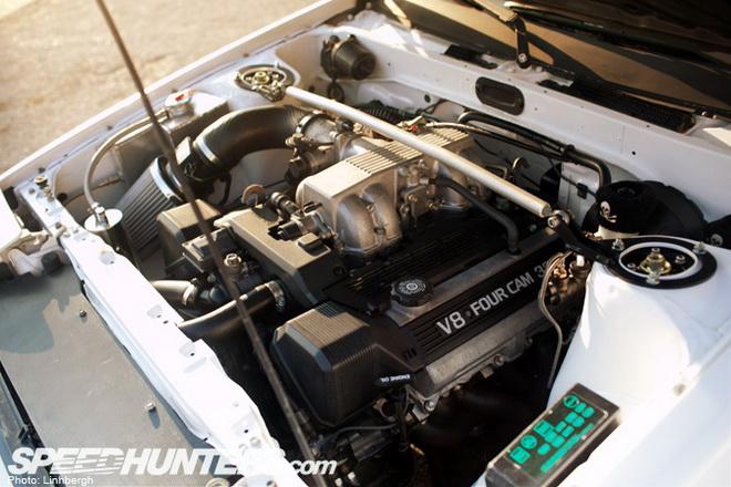 颠覆传统 丰田ae86 1uz-fe引擎改装鉴赏
