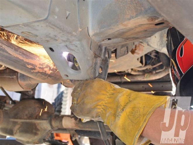 不改都浪费 jeep大切诺基wj底盘升高改装高清图片
