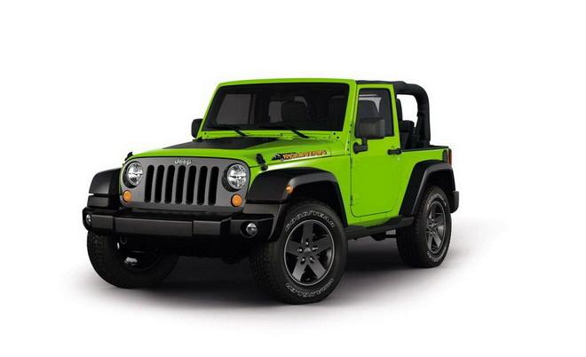 日内瓦车展发布 Jeep将推出牧马人特别版
