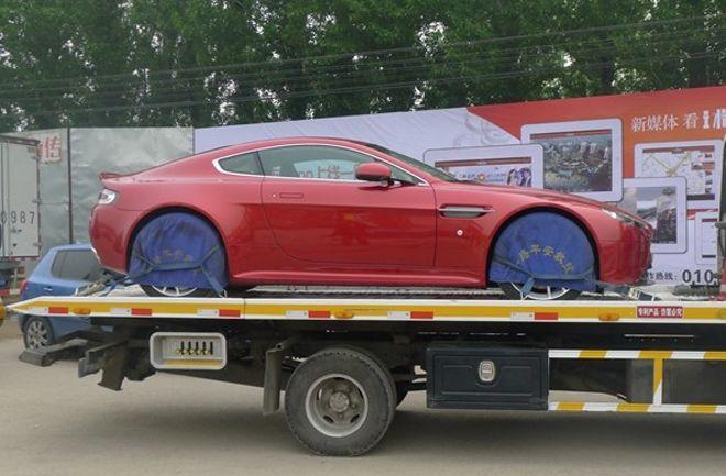 阿斯顿马丁三款龙年限量版 2012年北京车展高清图片