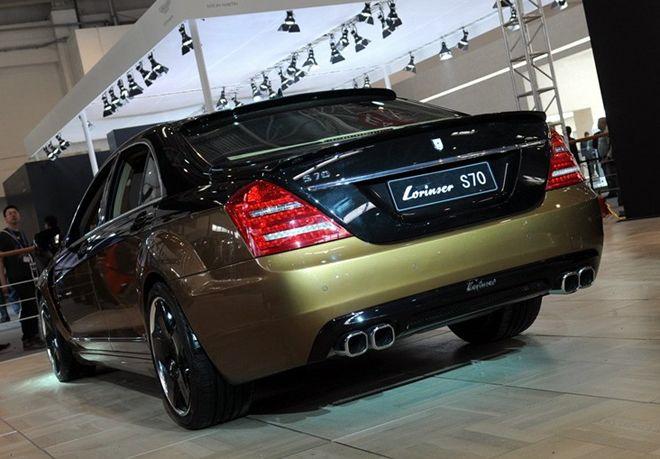 奔驰御用改装品牌 劳伦士 2012年北京车展