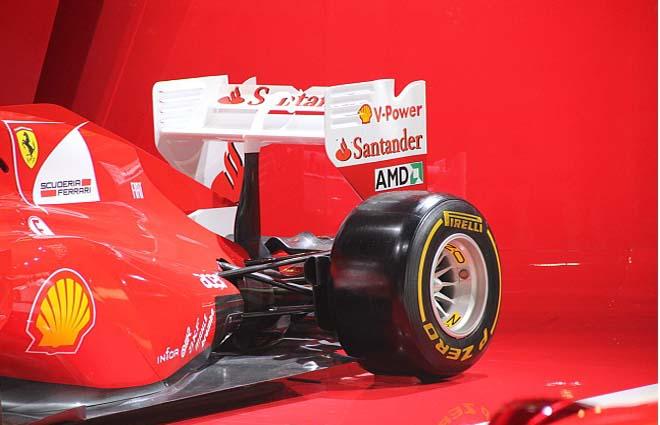 法拉利领衔四款f1方程式赛车 2012年北京车展高清图片