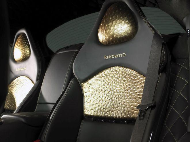 舒适度大大超过普通跑车-经Mansory之手改装后的超级跑车奔驰SLR高清图片