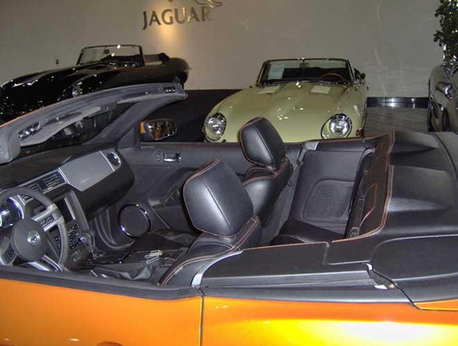 djwok改装福特野马硬顶敞篷车高清图片
