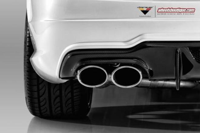 vorsteiner打造的洁白奔驰c63 amg coupe高清图片