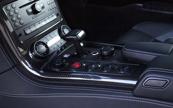 机械增压套件上身 700马力奔驰sls amg高清图片