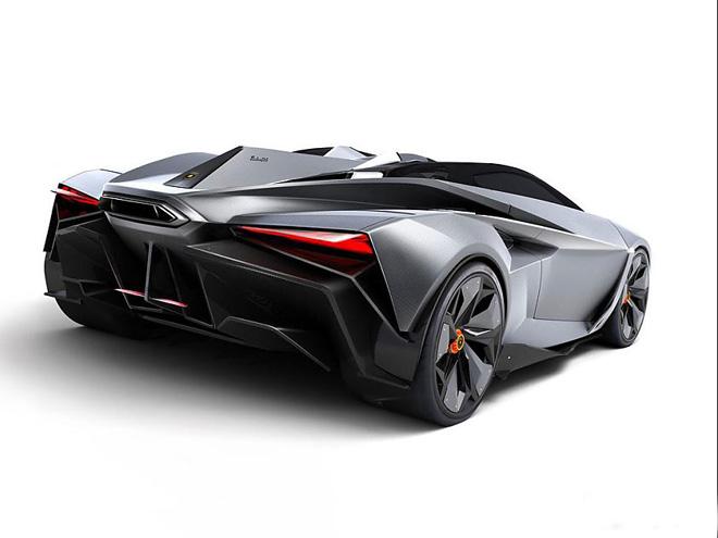 兰博基尼超级跑车概念图高清图片