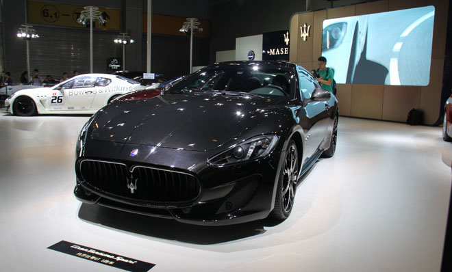 新款玛莎拉蒂GT跑车上市 售258.8万图片