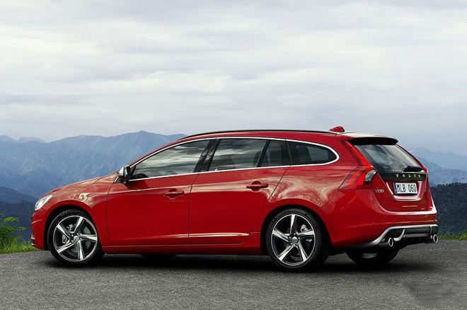 60高性能豪华轿车和豪华 suvxc60.沃尔沃v60 r-design个性运高清图片