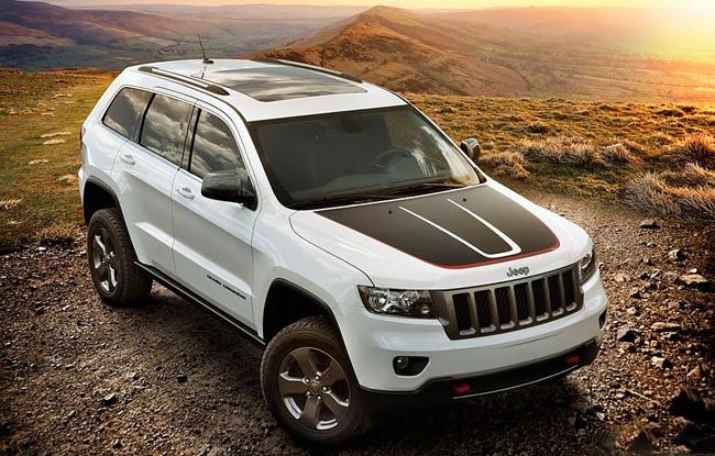 jeep大切诺基trailhawk白色涂装 特殊涂装 新大切 高清图片