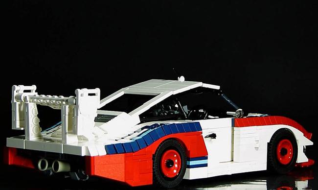 小而极致 乐高版1978保时捷935亮相