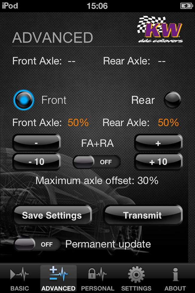 KW引领潮流 手机也能控制你的避震