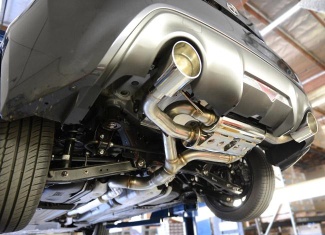 看得见的高品质 ASpec丰田86全段排气