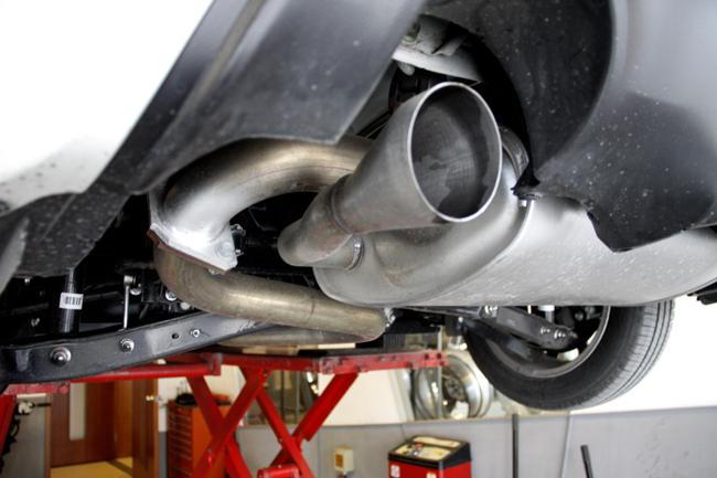 卓越品质 丰田86改装日本arqray排气作业 高清图片