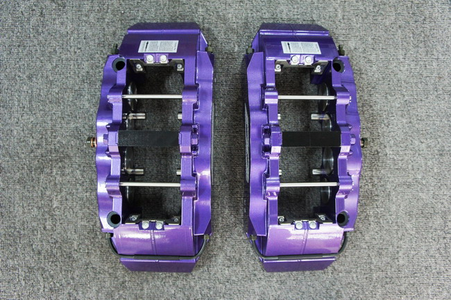 """""""紫醉金迷""""D2推宝马F10 大8活塞刹车"""