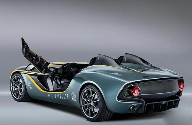阿斯顿.马丁就通过官网发布了这辆具有传奇色彩的概念跑车的高清图片