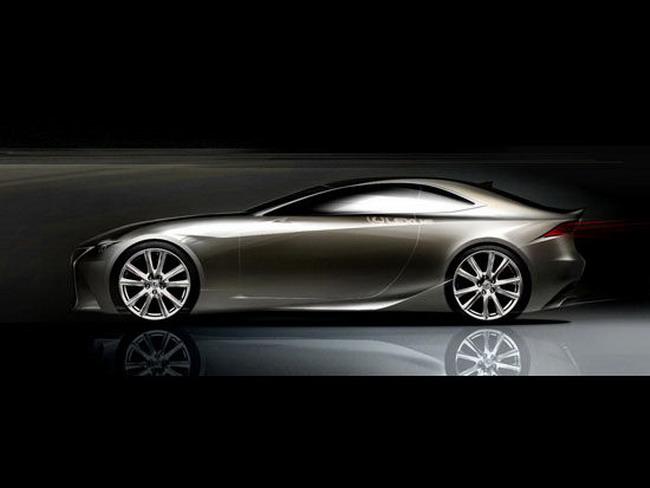双门轿跑 雷克萨斯is coupe将于明年发布 高清图片