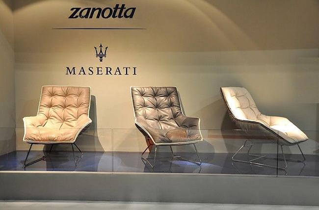 设计跨界 zanotta出品玛莎拉蒂限量版躺椅高清图片