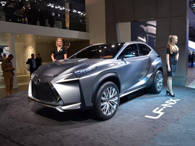 雷克萨斯lf-nx概念车曾在2013年的法兰克福车展首发,官方将高清图片