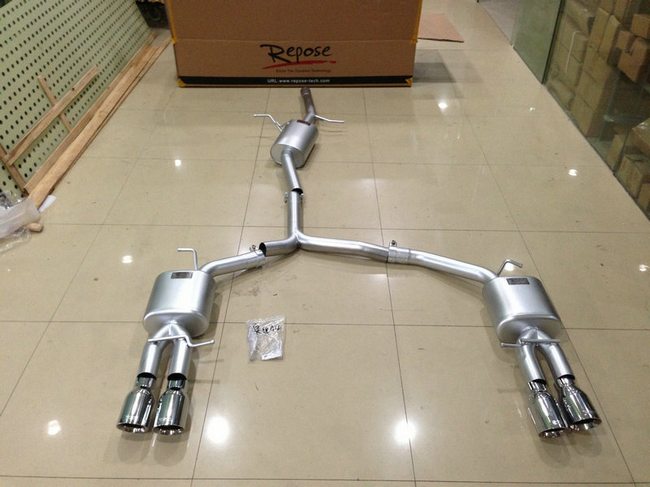 奥迪A4L专用 Repose排气系统大量到货