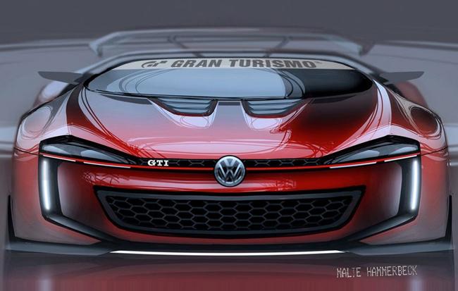 5月29日发布 大众高尔夫gti概念车曝光高清图片