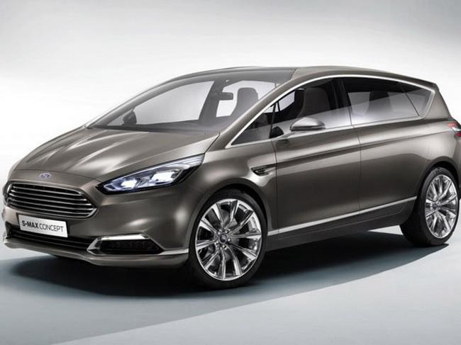 福特s-max车型的造型设计借鉴了大量福特s-max概念车的设计高清图片
