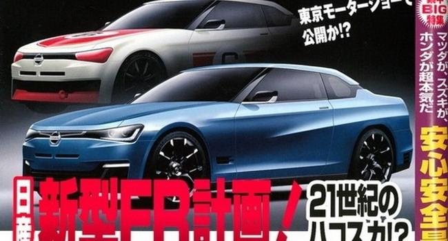 日产推新后驱轿跑车型 东京车展将首发