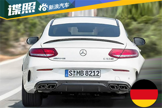 全新奔驰amg c63 s coupe高清图片