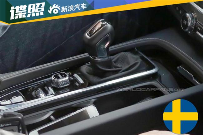 沃尔沃S90内饰实车图-沃尔沃S90实车图 将率先在中国上市高清图片