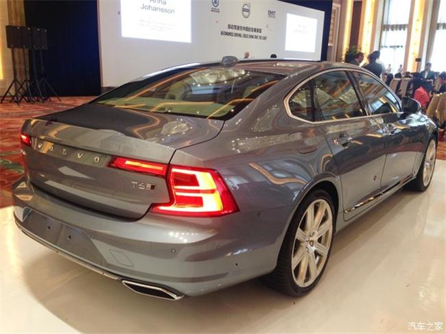 或年底进口 沃尔沃S90实车国内亮相高清图片