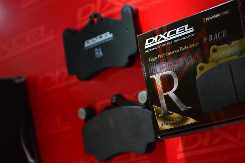 日产370Z改AFF02轮毂 DIXCEL刹车片